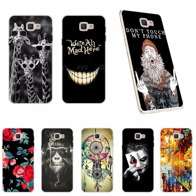 """Case Cover For Samsung Galaxy J5 Prime G570F G570 SM-G570F Soft Silicone TPU Phone Case For Samsung j5 Prime On5 2016 G570F 5.0"""""""