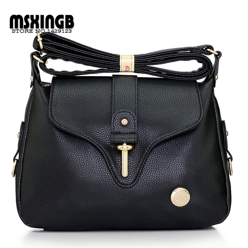 High Quality Women's Handbags Fashion Ladies Satchel Shoulder Bags Leather Crossbody Vintage Women Messenger Bag Bolsas Feminina women s handbags shoulder bag real leather messenger bags fashion satchel design crossbody leisure drawstring bag bolsa feminina