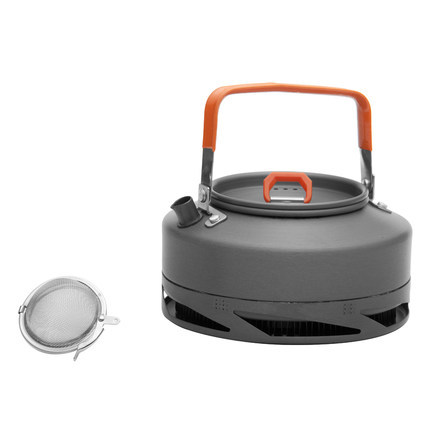 Hot Sale 0.8L Pot Fire Maple FMC-XT1 Ultralight 242g Camping Aluminium Kettle Heat Exchanger Boil Water/Make Coffee/Cook Tea