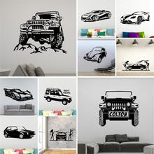 Wall Decal cross country vehicle Family Wall Stickers Mural Art Home Decor Home Decor Children House Wall Decal Home Decor cheap SmileArt Single-piece Package Plane Wall Sticker Modern For Refrigerator For Tile For Wall Furniture Stickers Window Stickers
