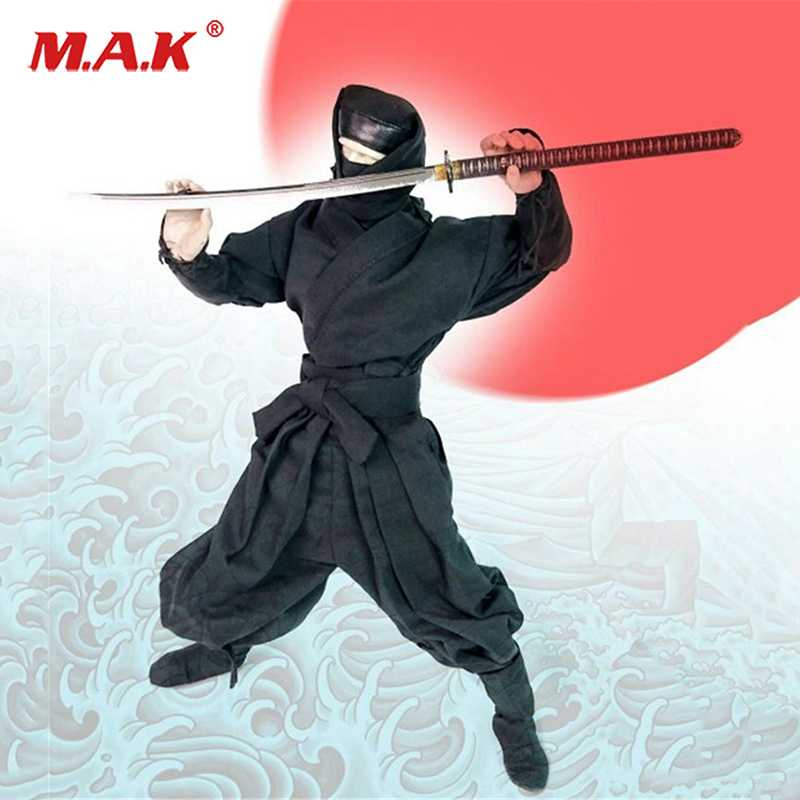 3 Colors 1/6 Costume Model Camouflage Ninja Clothing Sets For 12