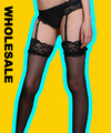 Venta al por mayor medias de seda Sexy ladies lace Stocking ligas de encaje para las mujeres 2015 de las mujeres de moda las mujeres atractivas del envío libre S02