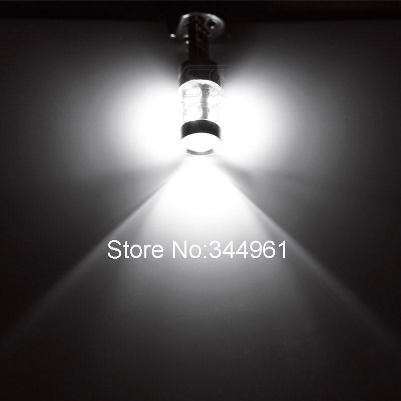 H1 led car lights Xenon White 60W Cree Chip-R3 Lens Vehicles Signal LED Car Fog Light Daytime Running Bulb parking 12V 012