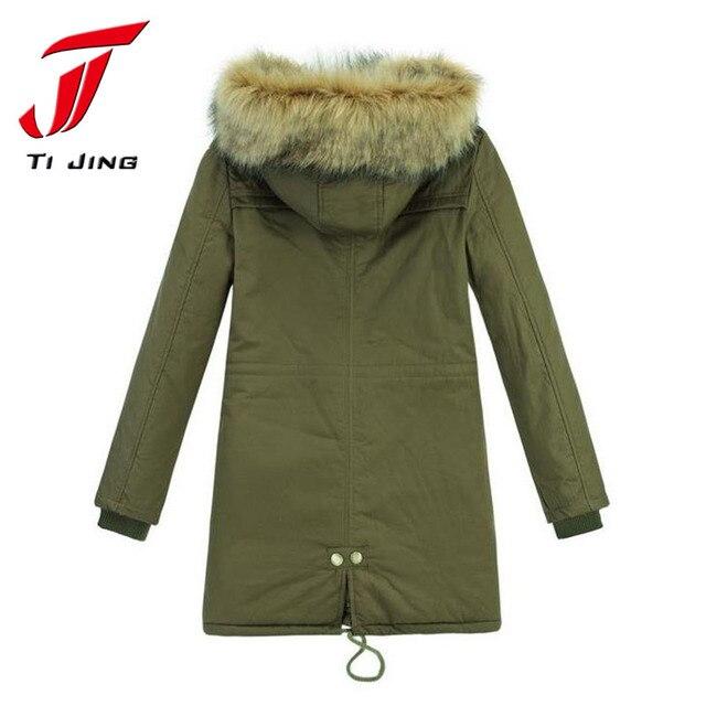 6c9cd4152da96 Hot Sale Plus Size parka Winter Coat Women Winter Jacket Cotton Padded  Female Long Section Cashmere Coat Winter Jackets 4XL L264