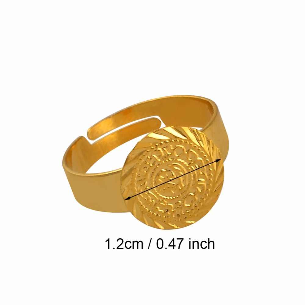 Cổ Nhỏ Đồng Xu Nhẫn Cho Nữ, free Size Đồng Tiền Cô Gái Trung Đông Trang Sức Hồi Giáo Hồi Giáo Sỉ Đồng Tiền Tiếng Ả Rập #139306