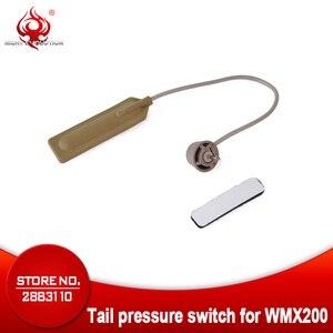 Ночник Evolution Gun Light WMX200, дистанционный переключатель, тактический фонарь, переключатель давления, пригодный для охоты, фонарь для оружия, NE04047