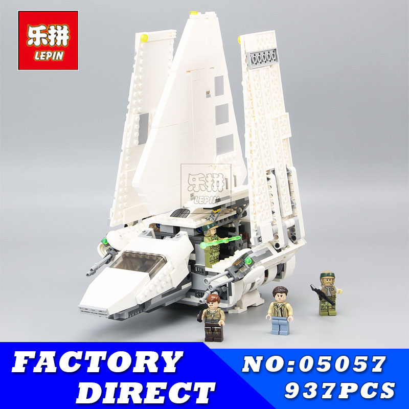 LEPIN 05057 937Pcs Star MOC Series war Imperial Shuttle Tydirium Building Blocks Bricks Assembled Children Toys Compatible 75094 lepin 05057 937pcs star moc series war imperial shuttle tydirium building blocks bricks assembled children toys compatible 75094