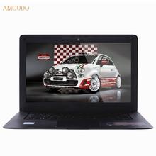 Amoudo-6C 4 ГБ RAM + 240 ГБ SSD + 750 ГБ HDD 14 дюйма 1920×1080 FHD Windows 7/10 двойные Диски Quad Core Ультратонкий Ноутбук Ноутбук
