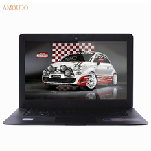 Amoudo-6C 4GB RAM+240GB SSD+750GB HDD 14inch 1920×1080 FHD Windows 7/10 Dual Disks Quad Core Ultraslim Laptop Notebook Computer