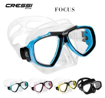 CRESSI FOCUS Mask cressi dry gara 100