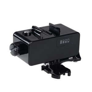 Image 2 - Внешний аккумулятор для GoPro Hero 8/7/6/5/4/3, экшн камера, 5200 мАч, водонепроницаемый аккумулятор, зарядное устройство, водонепроницаемый чехол, Gopro, чехол для зарядки/коробка