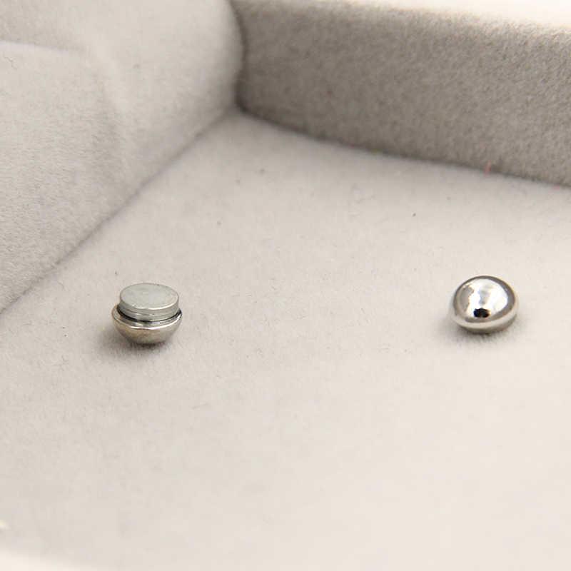 3e2be91be ... 3MM 6 MM Mini l no pierced magnet stud earring magnetic earrings cool  earrings free shipping ...