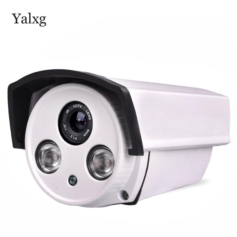 Yalxg Home Security cctv Alarm System 720P/960P HD Mini IP IR-Cut Night Vision Waterproof Camera P2P ONVIF H.264 NVR 1080p 2 0mp 960p 1 3mp 720p 1 0mp 4led ir dome ip camera indoor cctv camera onvif night vision p2p ip security cam ir cut 2 8mm