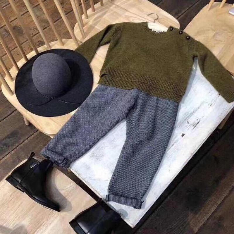 3b85da541 Aliexpress.com   Buy 2018 New Autumn Clothing Set Solid Red Green ...