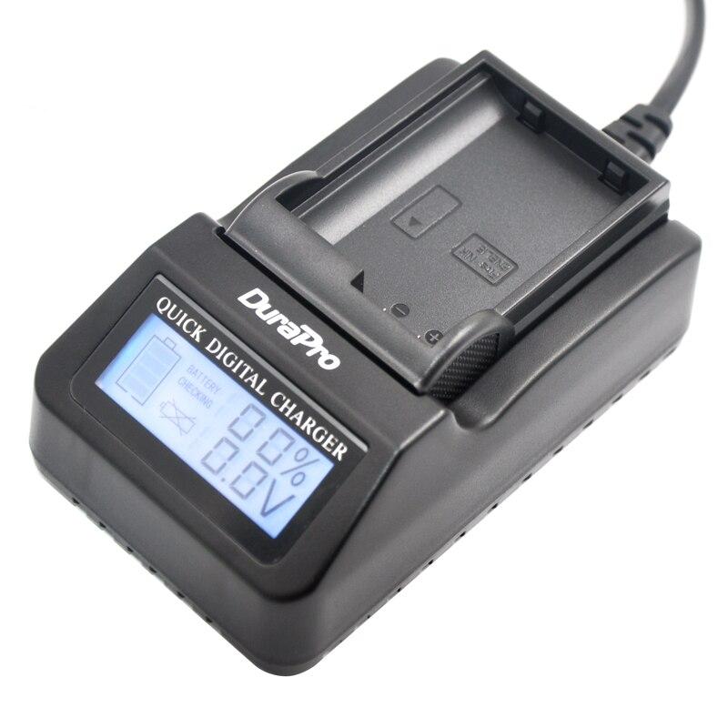 DuraPro EN EL15 ENEL15 EN EL15 LCD Super Quick font b Charger b font for Nikon