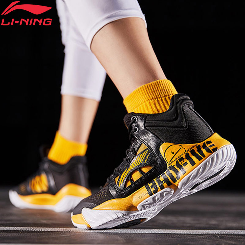 Li Ning Men STORM 2019 Professional Basketball Shoes TUFF RB Wearable Support LiNing CLOUD Sport Shoes Sneakers ABAP073 XYL270