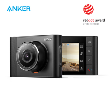 Anker Roav A1 Dash Cam Dashboard Camera Recorder 1080P FHD Nighthawk Wide-Angle WiFi G-Sensor WDR  Loop Recording Night Mode