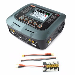 SKYRC Q200 1 to 4 Intelligent Charger/Discharger AC/DC Drone Balance Charger with XT30 1S-3S Plug for Lipo/NiMH/NiCD Battery
