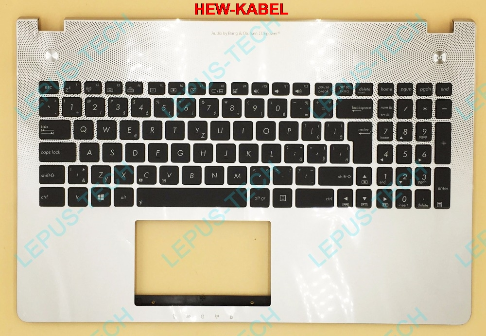 SK Slovak Keyboard With Backlight For ASUS N56 N56VB N56VJ N56VM N56VV N56VZ Top Cover Upper