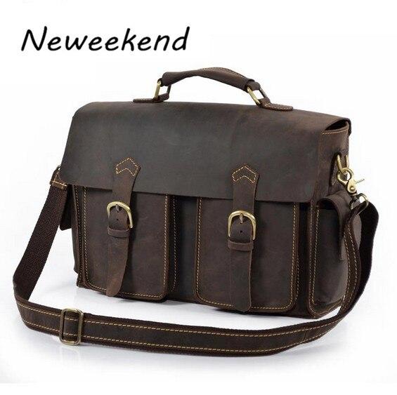 Mens Man bag,genuine leather briefcase,document bag,messenger bag,laptop case,ipad case,cowhide,vintage style,new,brown,XNK2001