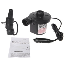 купить Electric Air Pump Portable Air Mattress Pump Inflator Deflator For Inflatables дешево