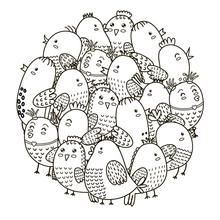 AZSG a large group of old hens Clear Stamps For DIY Scrapbooking Decorative Card making Craft Fun Decoration Supplies 13x13cm