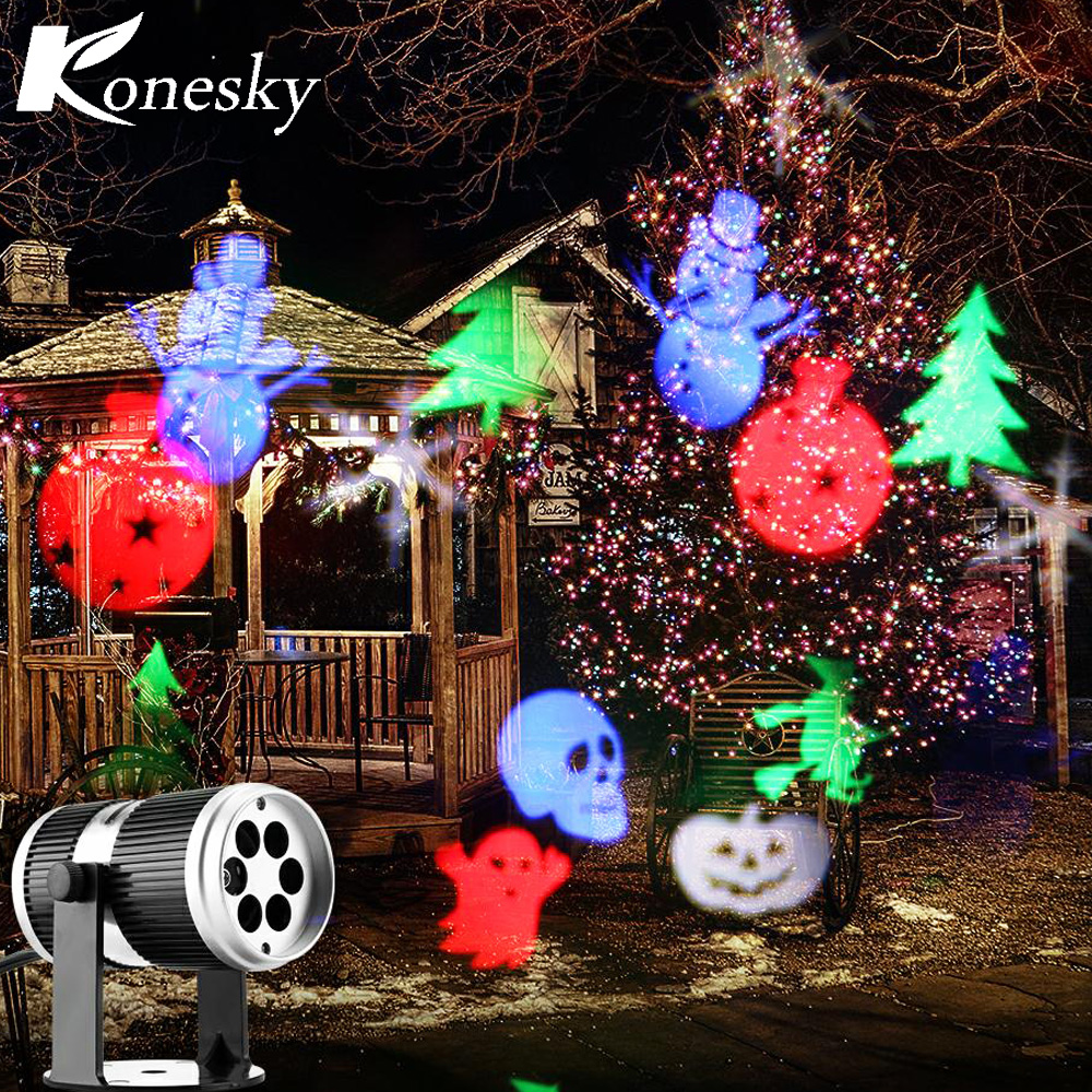 Weihnachten schnee laser projektor outdoor LED Lampen beleuchtung ...