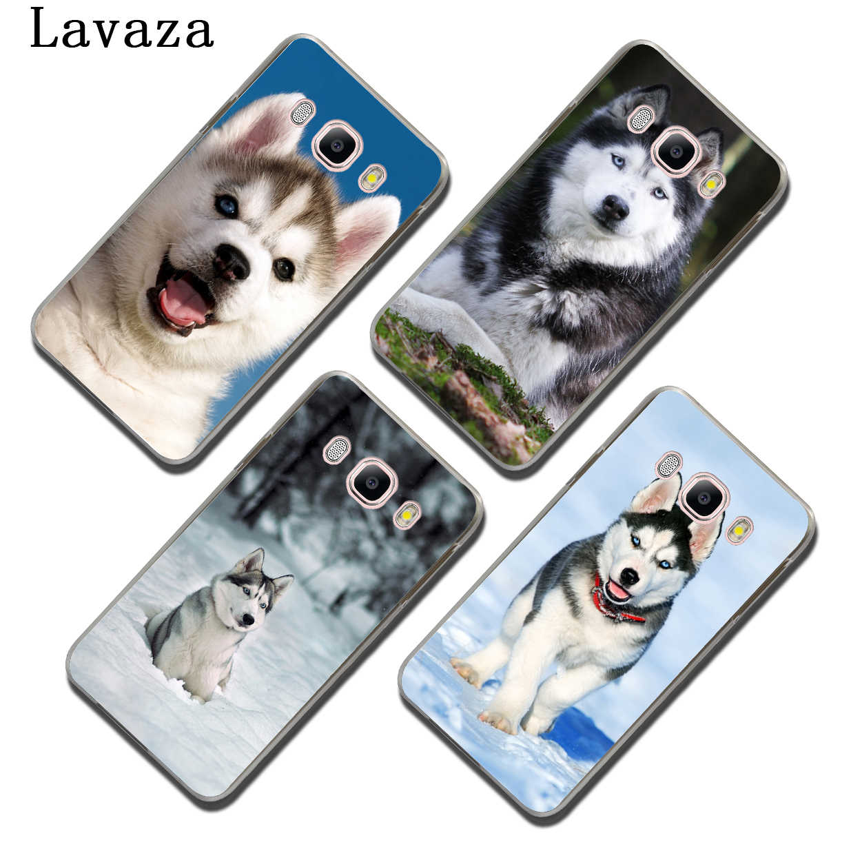 Lavaza щенок хаски, милая собачка, защитный чехол для телефона чехол для samsung Galaxy J7 J6 J5 J1 J2 J3 2017 2016 2015 премьер-J5 EU версия крышка