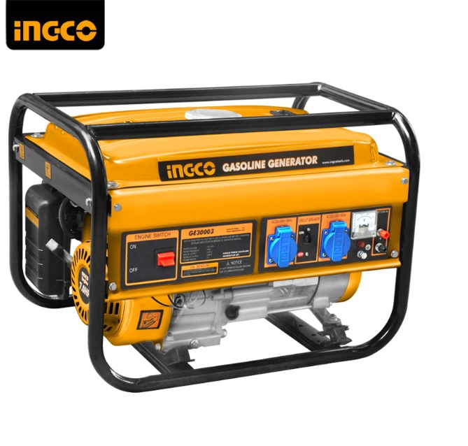Portable 2,500W Gasoline Generator with  Recoil Starting 4 stroke displacement 210cc fast shipping 6 5kw 220v 50hz single phase rotor stator gasoline generator diesel generator suit for any chinese brand