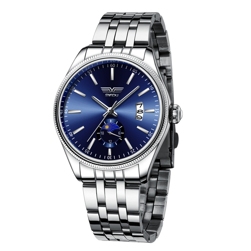 New Quartz Watches Gentlemen Casual And Fashion Wristwatch Men Business Clock