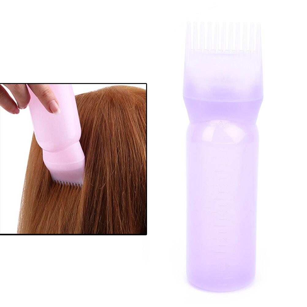 120ml empty hair dye bottle plastic