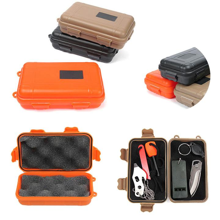 Outdoor Survival Storage Case Box Kayak Storage Camp Fish Trunk Airtight Container Carry Travel Seal Case Bushcraft Survive Kit Back To Search Resultssports & Entertainment