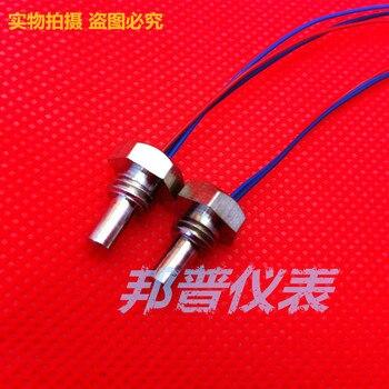 Mini PT100 sıcaklık sensörü mikro PT100 termal direnç M8/diş montajı pt100/M8