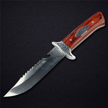 High Quality Straight Fixed Blade Knife Stainless Steel High Hardness Survival Hunting Knife Camping EDC Tool