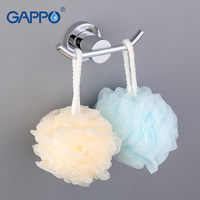 GAPPO 1 Set High Quality Restroom Tower Holder Wall Mount Zinc Alloy Hooks Bathroom Accessories Clothes