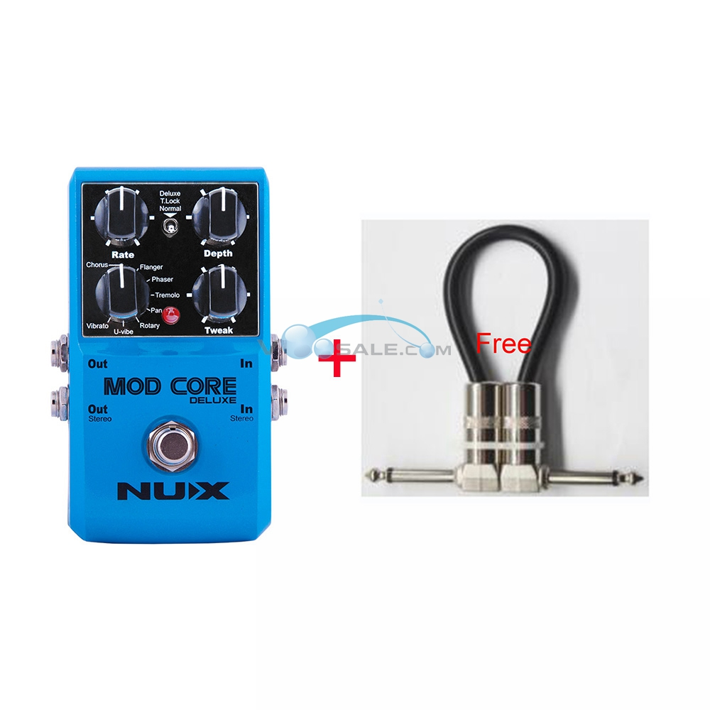 NUX Mod Core Deluxe Modulation Effect Pedal Guitar Effect 8 Modulation Pedal Effect Preset Tone Lock