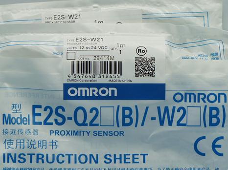 New and original  E2S-W21, E2S-W15   OMRON  Proximity sensor,Proximity switch, 12-24VDC     1M balluff proximity switch sensor bes 516 383 eo c pu 05 new high quality one year warranty