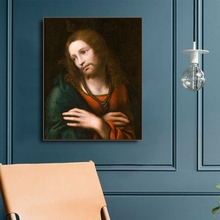 Jesus Christ Christian Oil Painting on Canvas Printings Art Home Decor Wall Picture for Living Room Church
