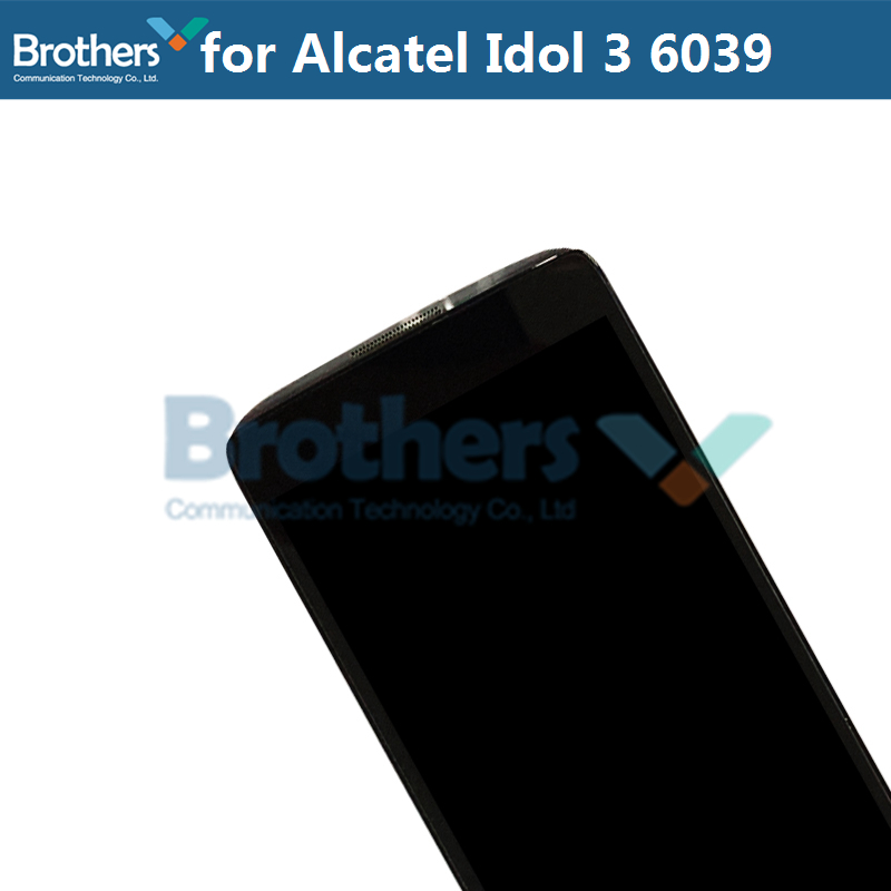 LCD Screen For Alcatel Idol 3 6039 6039A 6039K 6039Y LCD Display With Touch Screen Digitizer Assembly With Frame Replacement Top (7)