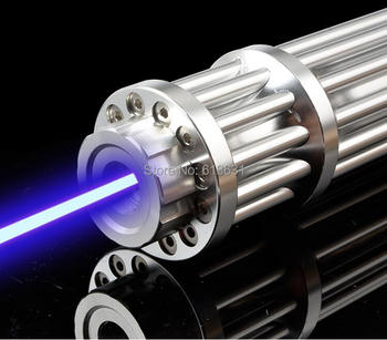 Most Powerful Burning Lazer Torch Cannon 450nm 700000m Flashlight Blue Laser Pointer Burn Dry Wood Light Cigars Hunting