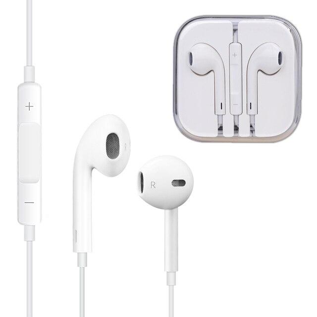 4b99bf3715f Original blanco 3.5mm auriculares para apple iphone se/5/5s/6/6 s ...