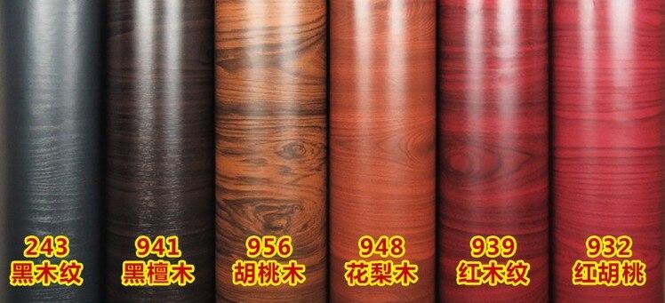 1 2mx20m Wood Grain Self Adhesive Vinyl Rolls Boeing Films