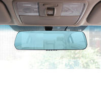 Dual Lens Car DVR Mirror Rearwiew Camera Driving Camcorder Video Recorder Full Hd 1080p Auto Registrator
