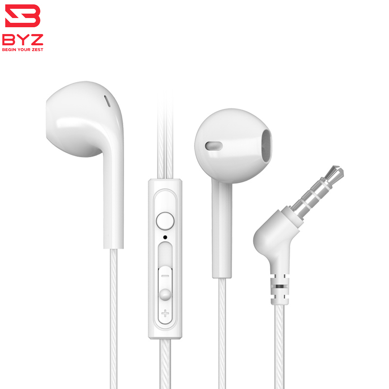 In-ear style Earphone with Microphone Stereophone For Mobile Phone computer xiomi sumsung iphone BYZ-SE386 byz jsy 001 driver unilateral phone earphone with microphone