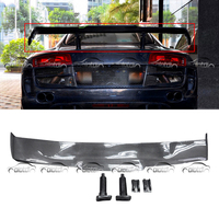 R8 GT Wings Spoiler Real Carbon Fiber Rear Trunk Lip Tail Splitter for Audi R8 ppi Razor Car Styling Car Body Kits