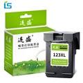 1 шт. черный 123XL заправленный картридж 123 XL картридж совместимый для HP Deskjet 1110 2130 1110 2130 3630 Envy 3632 4513 4520