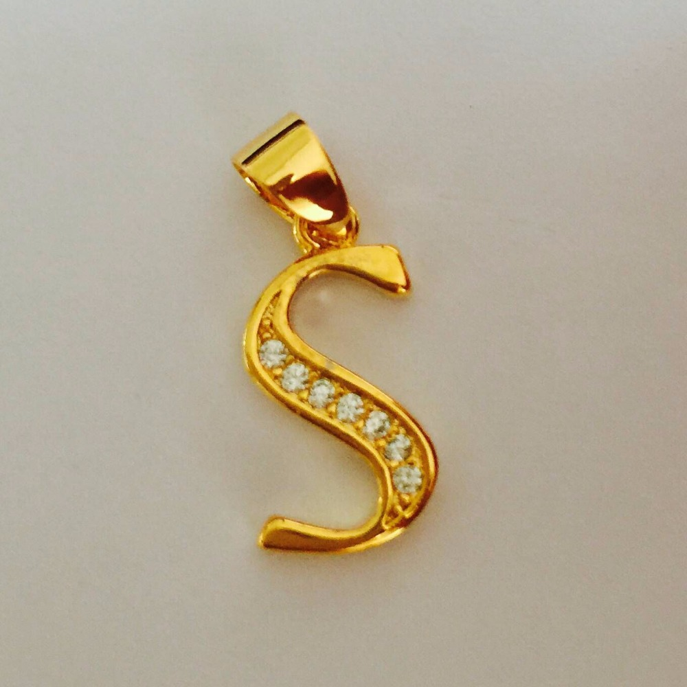 spicyice products pendant s letter necklace
