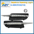 Good Quality LED Car Daytime Running Light Kit 12V 6W*2 Cr ee High power for BMW E70/X5(07-09) DRL Daylight Lamp with Turn Light