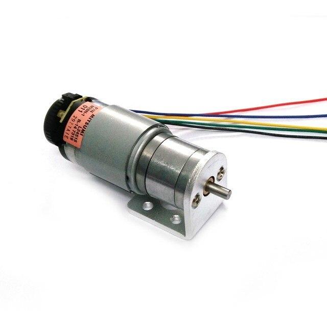 The new dc geared motor encoder aluminum motor bracket for Electric motor torque calculator