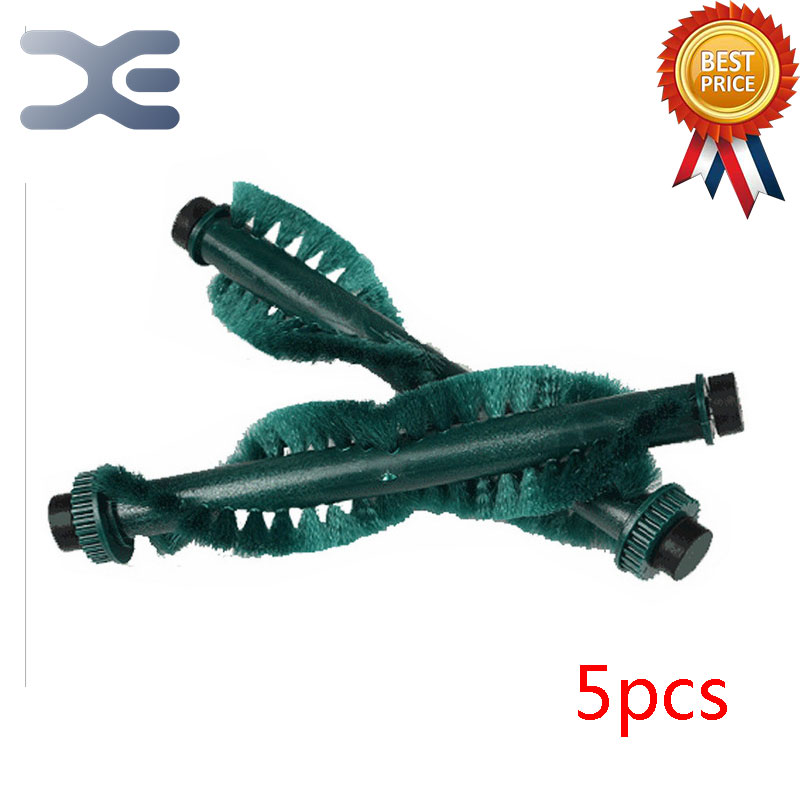 5 Pcs High Quality Ecovacs 5 Series 540/550/560/570 Sweeping Machine Accessories Roller Brush Brush Vacuum Cleaner Parts